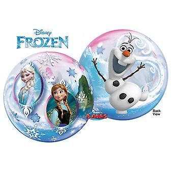 QUALATEX Disney congelé 22 pouces simples bulles ballon