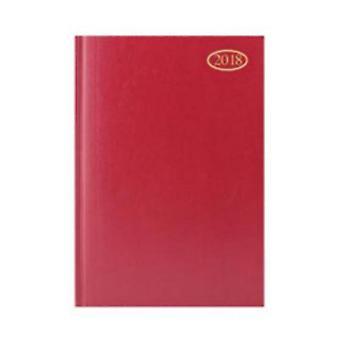 Tallon 2018 A4 WTV Red Hardcase Desk Diary