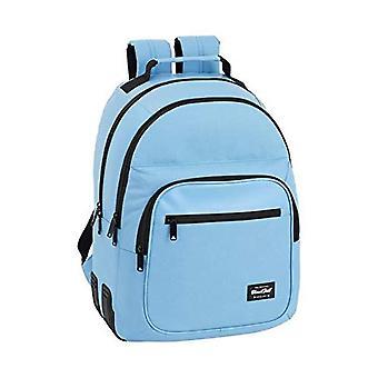 BlackFit8 - حقيبة ظهر المدرسة الرسمية - 320 × 150 × 420 ملم - اللون: أزرق
