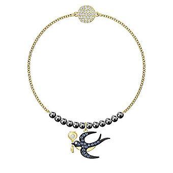 Swarovski kvinde Plated_Gold flettet armbånd 5494381
