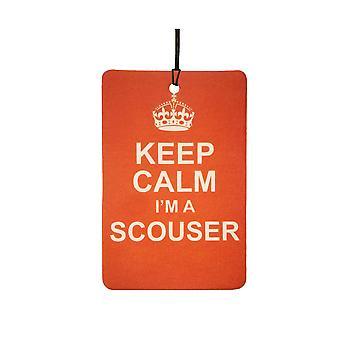 Keep Calm sono un deodorante per auto Scouser
