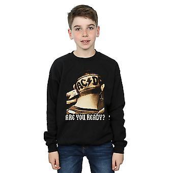 AC/DC jongens bent u klaar haar scheren Sweatshirt