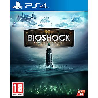 Новый запечатанный Bioshock коллекции PS4 консоли видео действий приключенческая игра