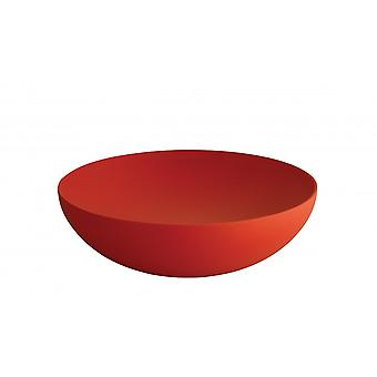 Alessi Double Wall Bowl - 25cm - Red