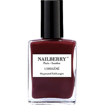 NailBerry Oxygenated Nail Lacquer - Dial M For Maroon 15ml