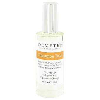 Demeter by Demeter Cinnamon Toast Cologne Spray 4 oz / 120 ml (Women)