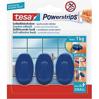 tesa 57546-15-01 Tesa Trip ® هوكس المحتوى الأزرق البيضاوي الصغير: 3 أجهزة كمبيوتر (ق)