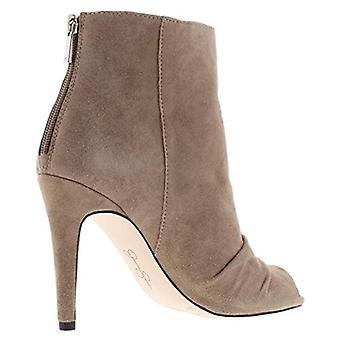 Jessica Simpson Womens js-elyn Suede Open Toe Ankle Fashion Boots