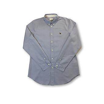 Paul Smith tailored fit overhemd in blauw