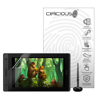 Celicious Matte Anti-Glare Film Protector Compatible with Huion Kamvas Pro 16 [Pack of 2]