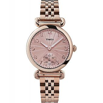 Timex TW2T88500 Model 23 Rose Gold Tone Wristwatch