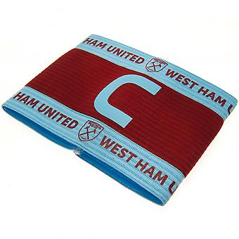 West Ham United FC unisex kaptajner arm band