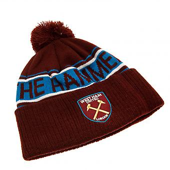 West Ham United FC Official Adults Unisex TX Ski Hat