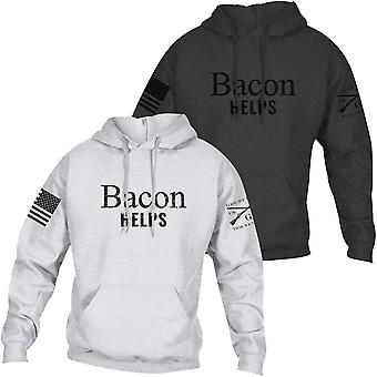 Grunt Style Bacon hilft Pullover Hoodie