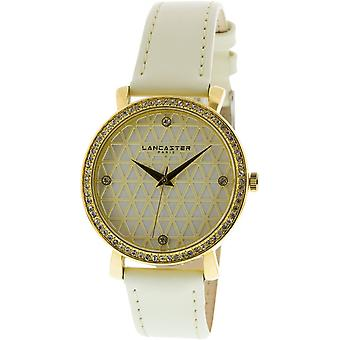 Lancaster watch watches LOUVRE LPW00316 - watch LOUVRE leather white woman