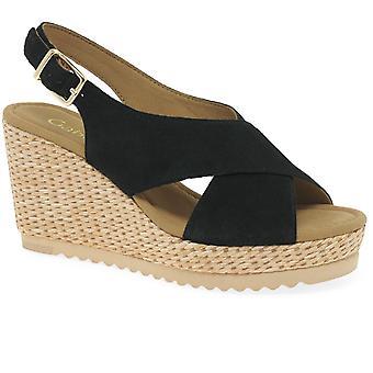Gabor paruline Womens Wedge sandales à talon