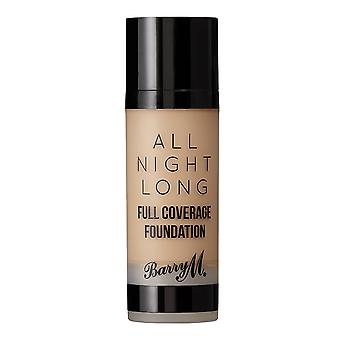 Barry M All Night Long Full Coverage Foundation - Cookie