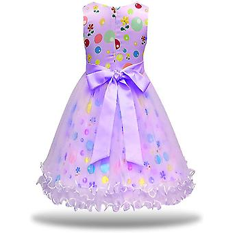 MagJazzy Girls Tutu Princess Dress Doll Digital Print Sleeveless Pageant Gown...