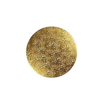 """Culpitt 16"""" (406mm) Kuchen Board Runde Gold Farn - Einzel"""