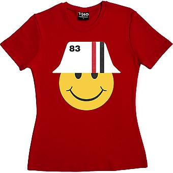 1983 Smiley Red Women's T-Shirt