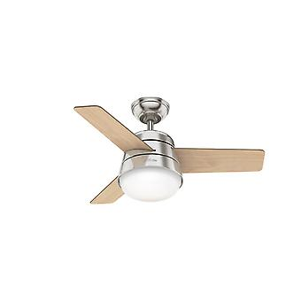 Ceiling fan Finley Nickel 91cm / 36