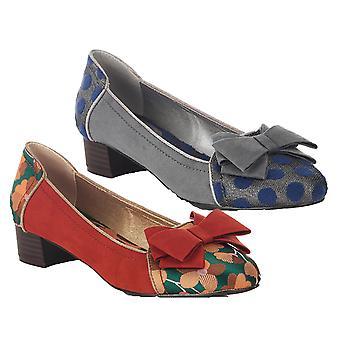 روبي شو المرأة & s أورورا ميزة القوس أحذية مسطحة