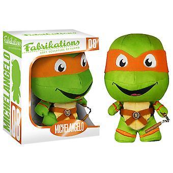 Teenage Mutant Ninja Turtles Michelangelo Fabrikations Plush