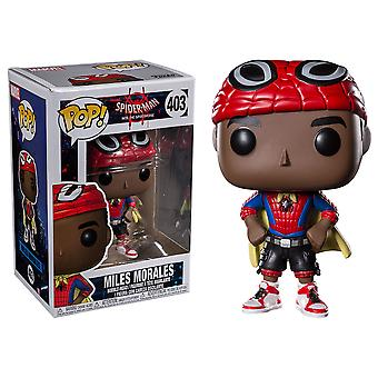Spider-Man Into the Spider-Verse Miles Morales w/ Cape Pop!