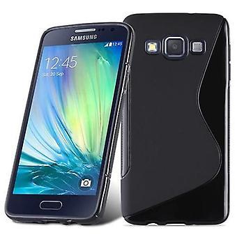 Cadorabo Case for Samsung Galaxy A3 2015 Case Cover - Mobile Phone Case made of flexible TPU silicone - Silicone Case Protective Case Ultra Slim Soft Back Cover Case Bumper