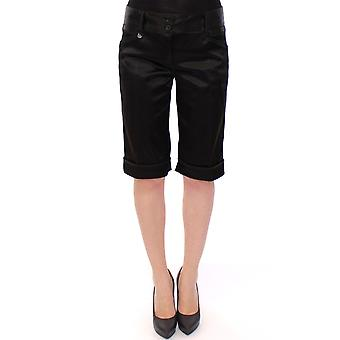 Dolce & Gabbana Black Nylon Shorts Pants