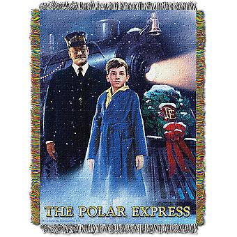 Woven Tapestry Throws - The Polar Express - We Believe New 022796