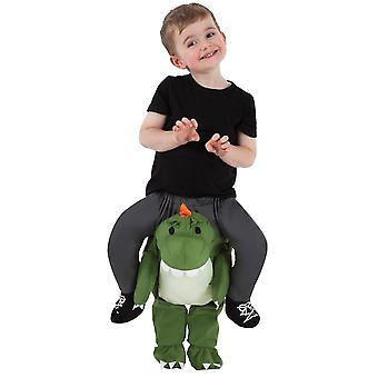 T-rex Rider Child Costume