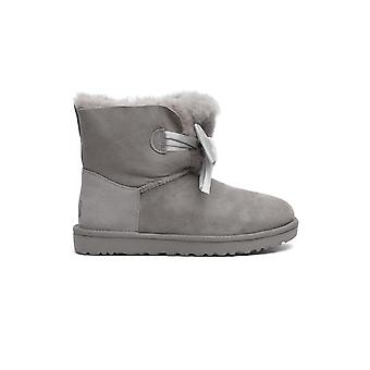 Ugg 1098360grey Women's Grey Leather Ankle Boots