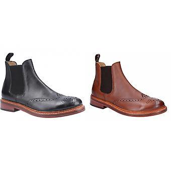 Cotwold hombres Siddington cuero elástico vestido bota