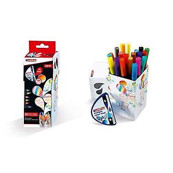 edding--Box Colour Happy Set 20xbrush, mixer, white e-1500 4-CH20+1