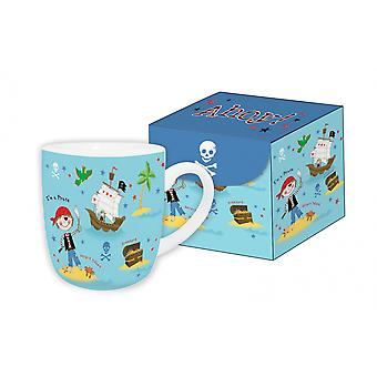 Pirate Themed Mug in Magnetic Gift Box - Lovely Present For a Child - Fine China