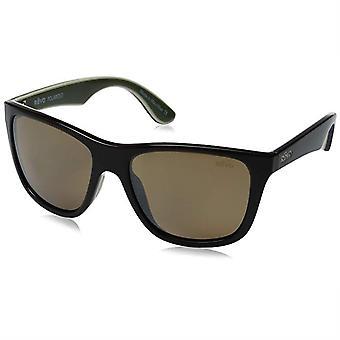 Revo Otis Polarized Sunglasses Brown/Ivory/Olive, Amber