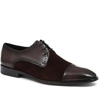 Jones Bootmaker Hand-Finished Leather Derby Brogue