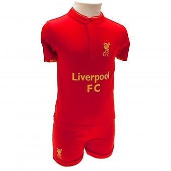 Liverpool Shirt & Short Set 12-18 Months GD