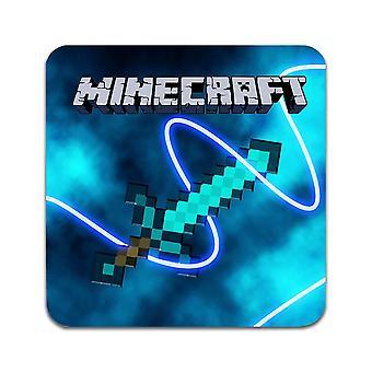 2 ST Minecraft Diamant Schwert Untersetzer