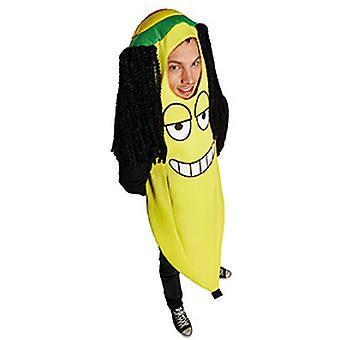 Degli uomini Rasta banana costume Carnevale Carnevale
