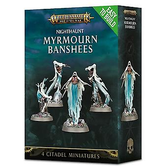 Nighthaunt Myrmourn Banshees ، من السهل بناء ، Warhammer 40000 ، ورشة عمل ألعاب