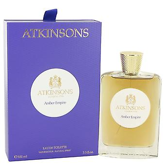 Amber Empire Eau De Toilette Spray By Atkinsons 3.3 oz Eau De Toilette Spray