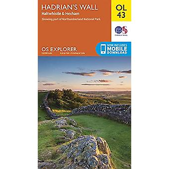 Hadrian's Wall - Haltwhistle & Hexham - 9780319263624 Boek
