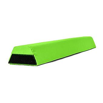 Fun!ture Water Resistant Foam Gymnastics Training Balance Beam 1.2 Metres Long (Lime)