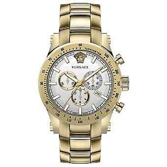 Versace VEV800619 Sporty heren horloge chronograaf 44 mm