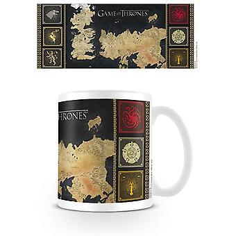 Game of Thrones Χάρτης & Κορυφές Κούπα