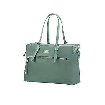 SAMSONITE Karissa BIZ-ostos laukku 14,1 Messenger laukku 40 cm 19,5 litraa vihreä (Gunmetal Green)