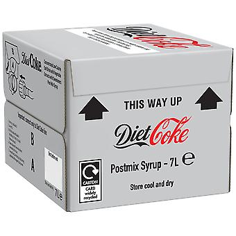 Coca Cola Diet Coke Bag in Box Postmix Syrup