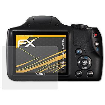 påFoliX Glass Protector kompatibel med Canon PowerShot SX540 HS 9H Hybrid-Glass